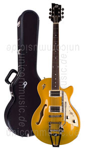 zur Detailansicht E-Gitarre DUESENBERG STARPLAYER TV - Gold Top + Custom Line Case