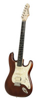 E-Gitarre BERSTECHER Deluxe 2018 - Old Whisky / Cream Perloid + Koffer - made in Germany