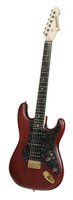 E-Gitarre BERSTECHER Vintage 2018 - Black Cherry / Floral Black + Koffer - made in Germany