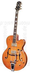 zur Detailansicht Vollresonanz Jazz-Gitarre - PEERLESS TONEMASTER PLAYER Orange + Koffer
