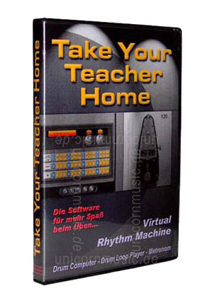 zur Artikelbeschreibung / Preis Beatsoftware TAKE YOUR TEACHER HOME - Virtual Rhythm Machine - PC CD-ROM